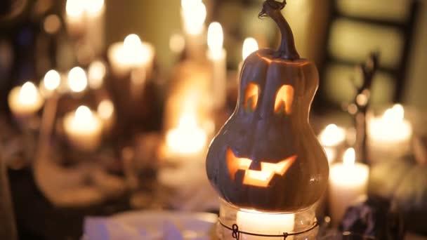 Slavnostní Halloween dýně