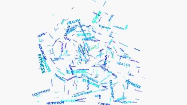 Treadmill aplikace Word – metafora na zdraví, výživu, stravu, wellness, tělo,