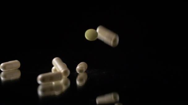 pills Tablets Medications dropping