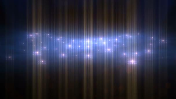 Efekt abstraktní částice bliká světlo VJ