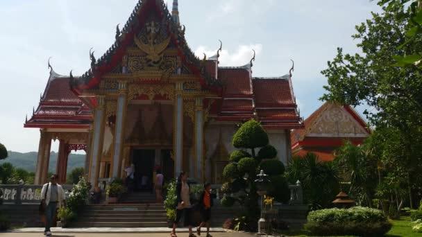 Thailand Buddhist Temple of Wat Chalong Phuket