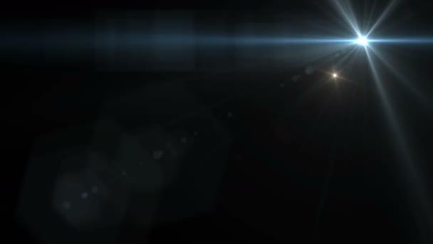 Flashing light  camera lens Flare simulating