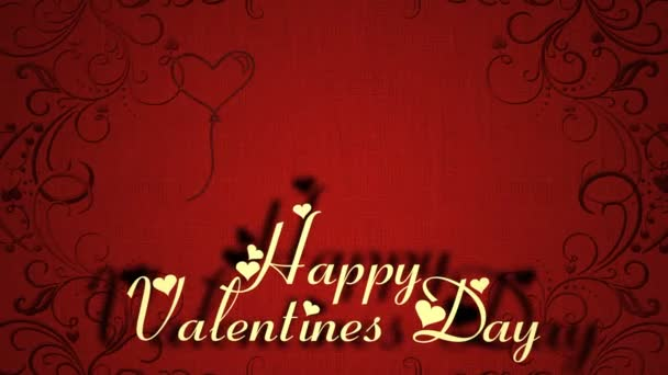 Valentines Day Romantic Love Icon Animation