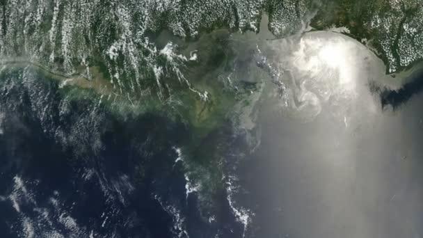 Mélyvízi Horizon olajfolt a Mississippi Delta közelében
