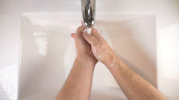 Kézmosás a mosogató szappannal tisztítani a jó higiéniai
