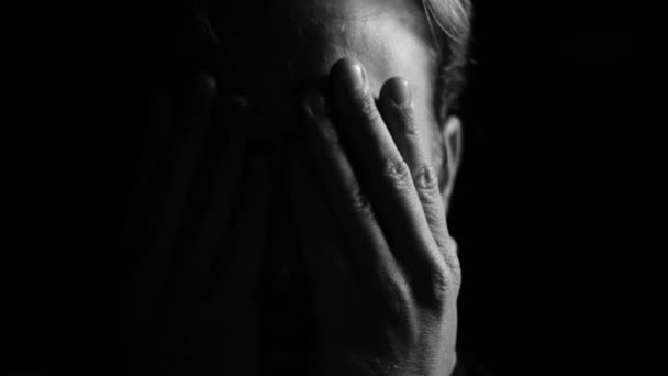 post traumatic stress sad man with depression is worried with stress and anxiety