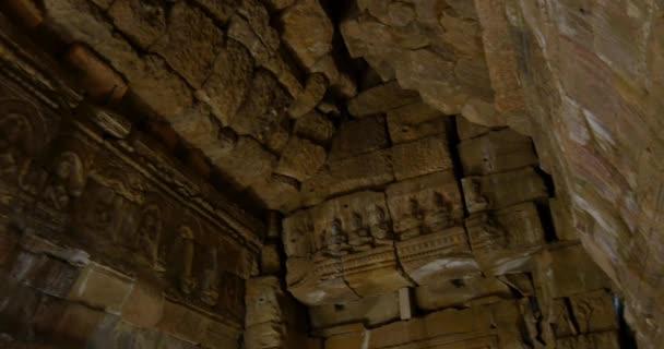 Kambodzsai Angkor Wat templom ősi romot épületek Preah kán