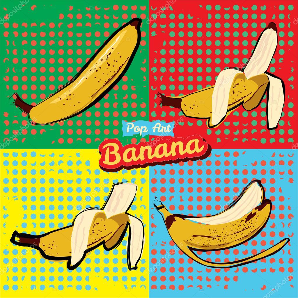 банан в поп фото