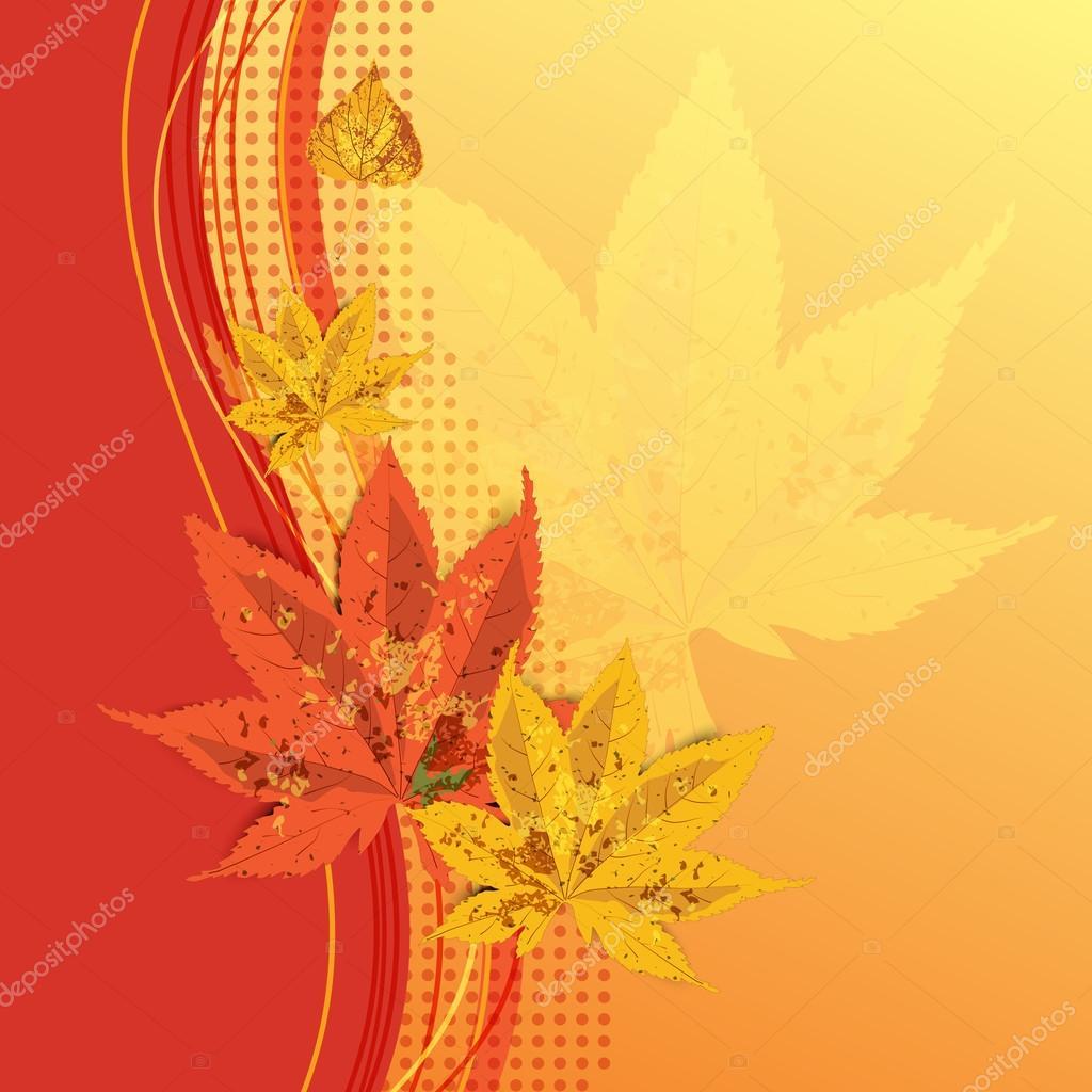 открытка фото осень