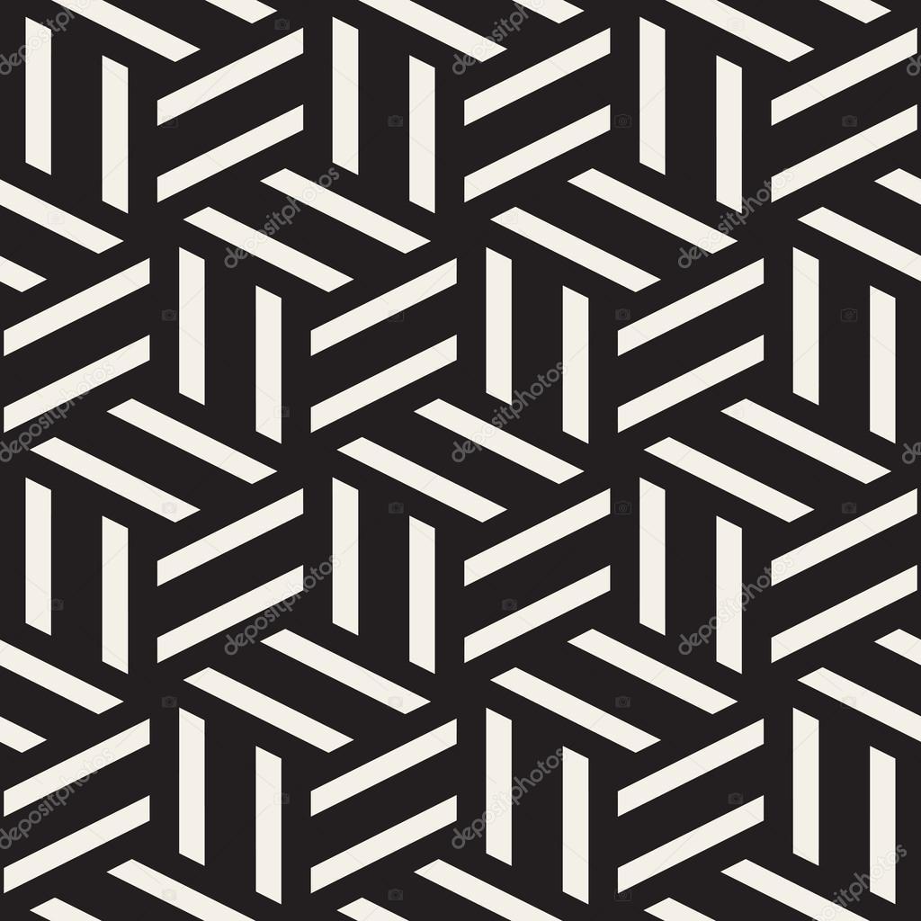 Disegni Geometrici Bianco E Nero vector seamless black and white rectangle lines geometric