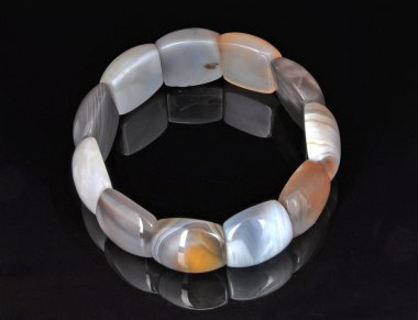 Bracelet Flat Beads