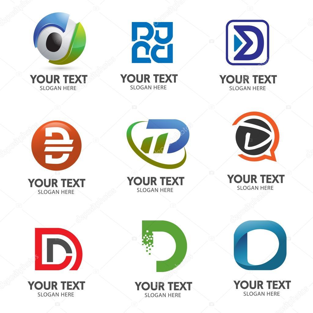 logo lettre d Vectoriel logo lettre D — Image vectorielle krustovin © #100516860 logo lettre d
