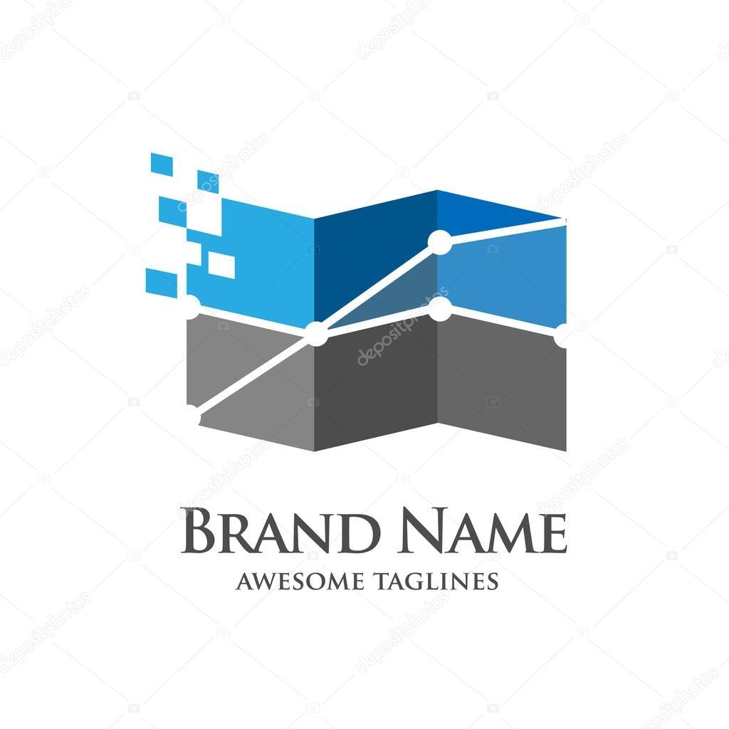 Buchhaltung, banking, Erfolg, Kunst, Geschäft Logo Vorlage ...