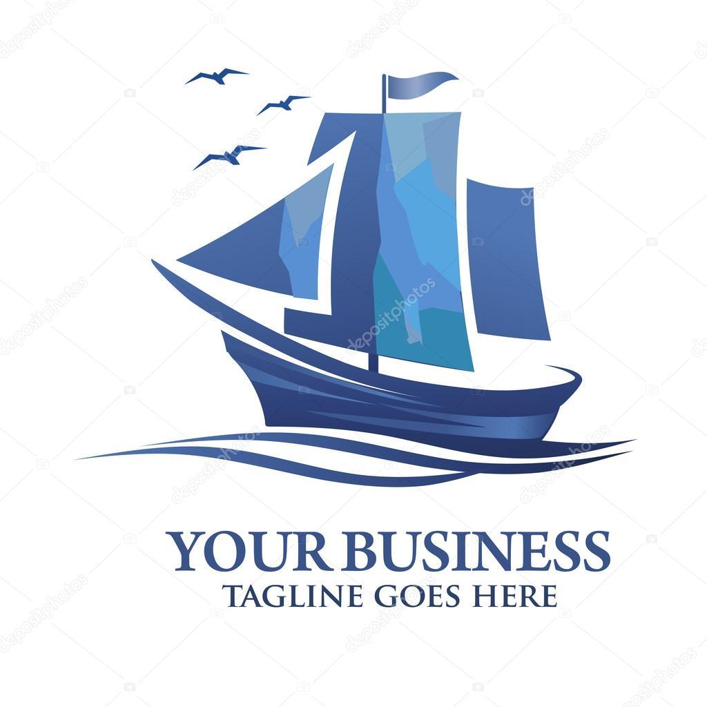 sailing boat logo vector � stock vector 169 krustovin 102280902