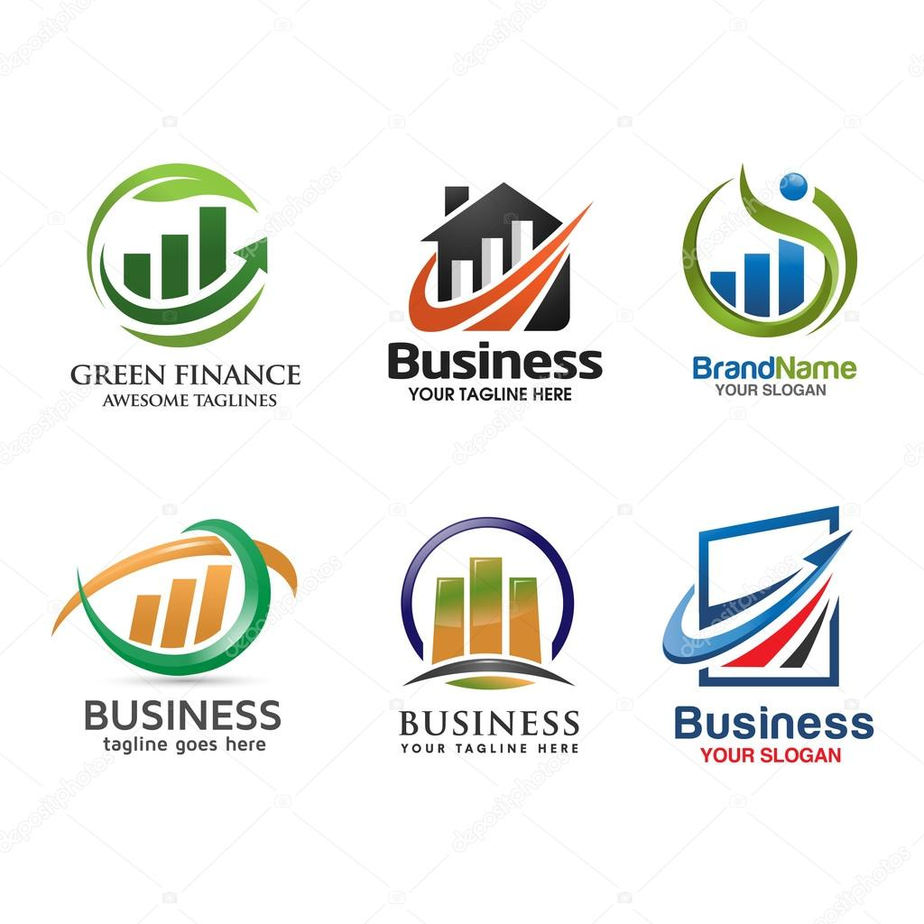 Marketing and finance logo set stock vector krustovin 104052172 business marketing finance and property logo vector vector by krustovin thecheapjerseys Choice Image