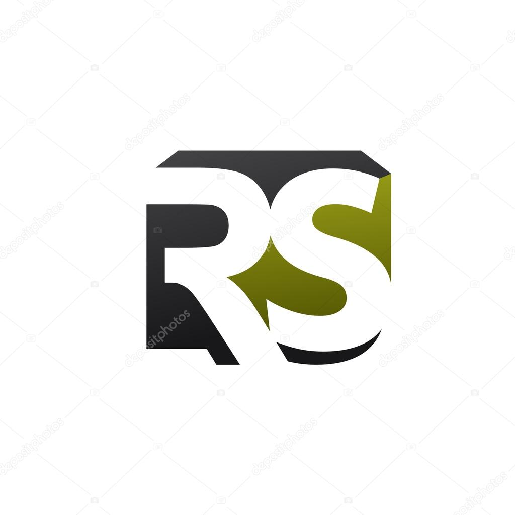Letter r and s rs sr letter s letter r logo stock vector elegant concept logo elements letter rs vector image vector by krustovin buycottarizona Image collections