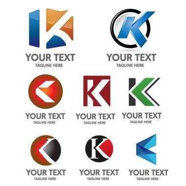 Letter K logo concept