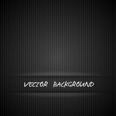 Black strips background and backdrop vector illustration