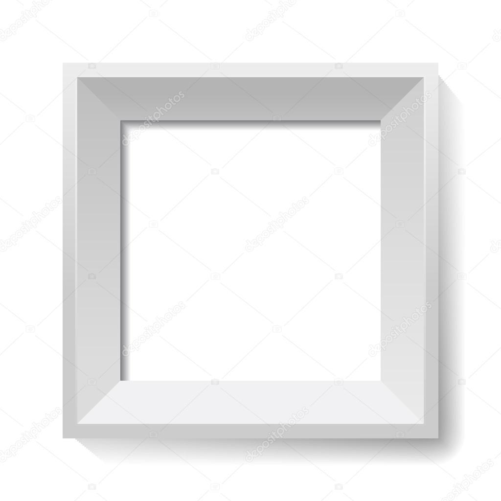 marco blanco. Vector — Vector de stock © ctrlastudio #86098798