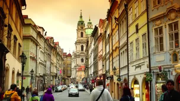 Ultra HD 4k Echtzeit-Aufnahme, Blick auf die Prager Altstadt