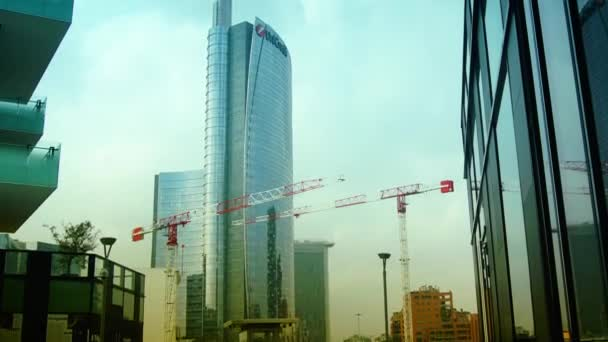 New district of Porta Nuova Garibaldi - The city of Milan is renewed in anticipation of the universal exposition of 2015