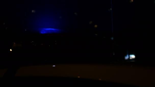 Policie měkké blikající světlo siréna alarmu