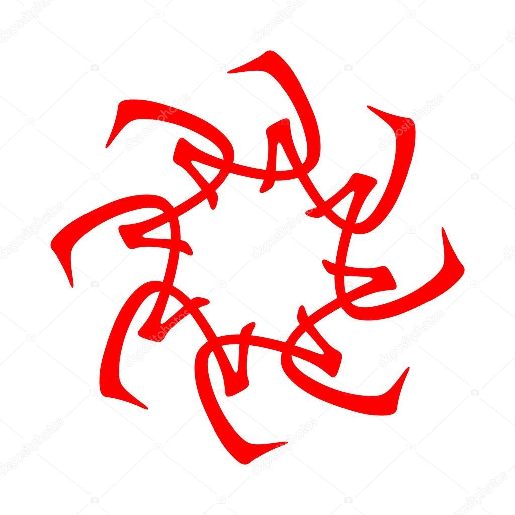 Symbol From Chinese Hieroglyphs Translation Of 10 Zodiac Stems