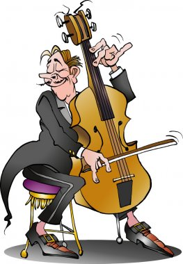 A classic cello player
