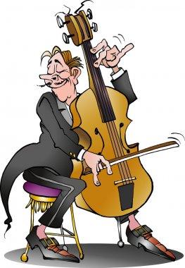A classic cello player