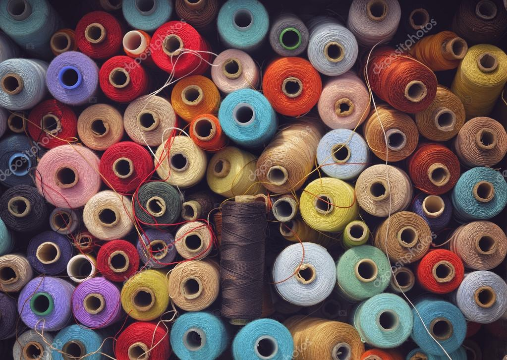 sewing thread from GDR Period