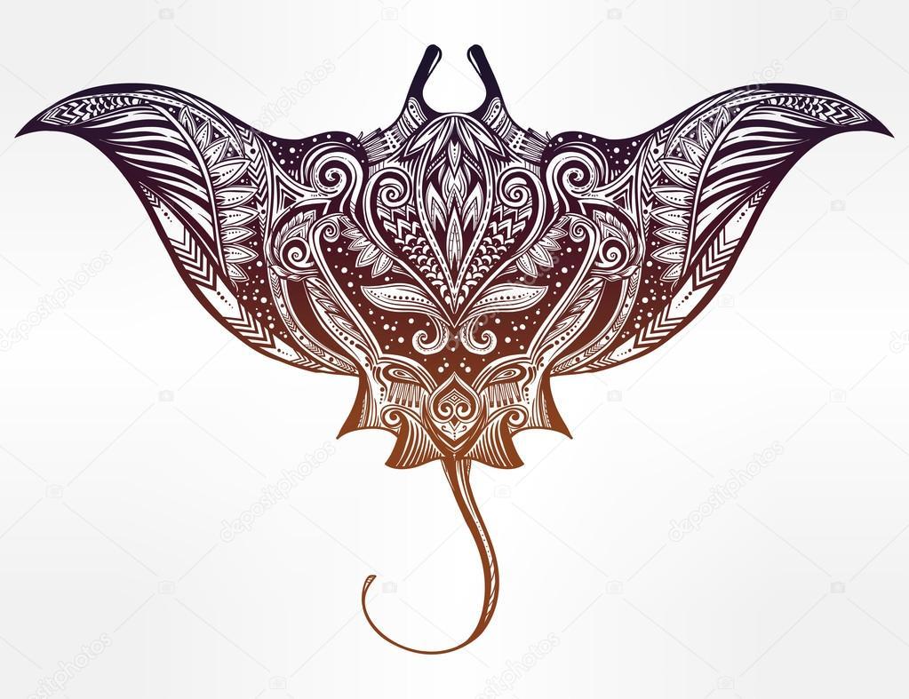 Pastinaca ornamento tribale maori arredamento vettoriali for Arredamento stock