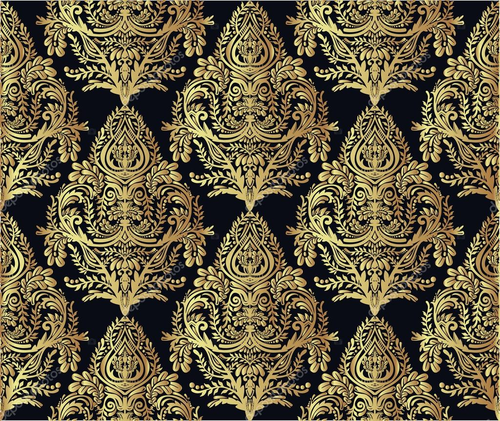 Baroque pattern wallpaper the image kid for Baroque style wallpaper