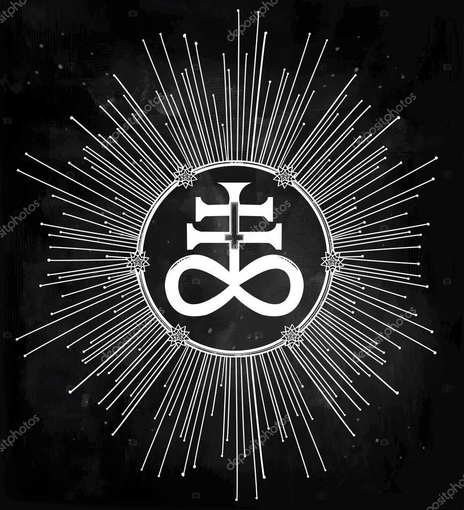 The satanic cross symbol illsutration stock vector katja87 the satanic cross symbol illsutration stock vector biocorpaavc