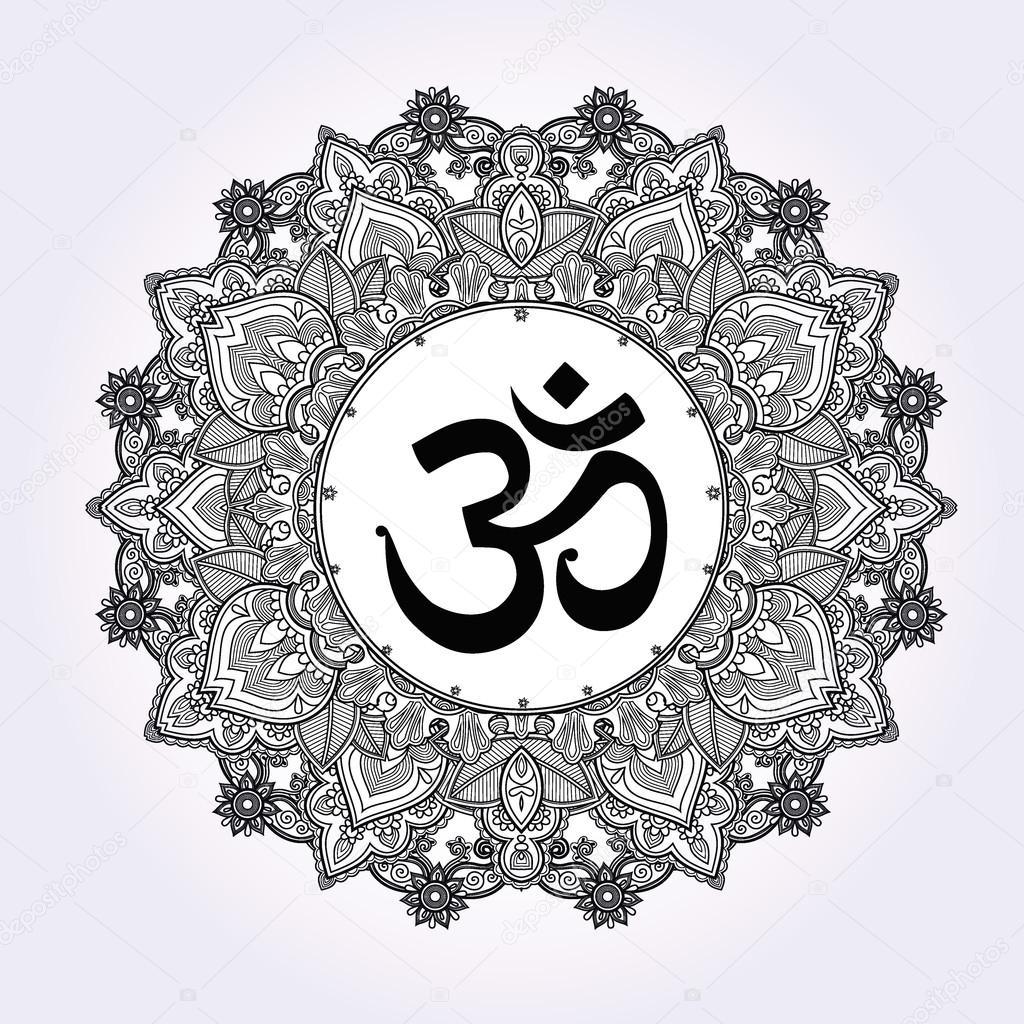 Sunrise Studio Tattoo Depositphotos_89986896-stock-illustration-lord-ganesha-om-mandala-symbol