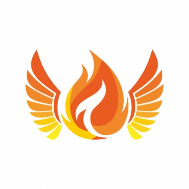 Church logo. The fire of the Holy Spirit.
