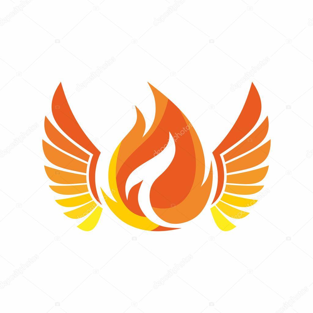 logotipo da igreja o fogo do esp237rito santo � vetor de