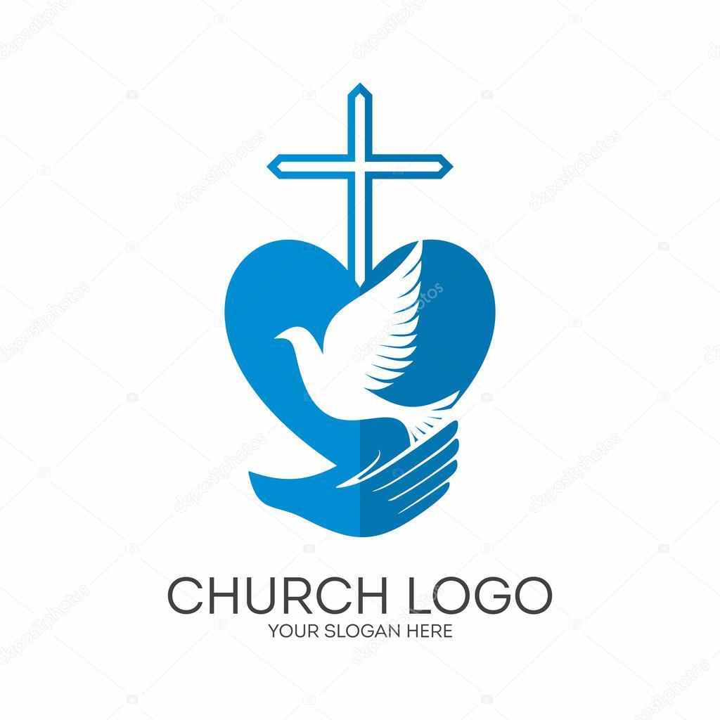 Church Logo Christian Symbols God Has Given Us The Holy Spirit