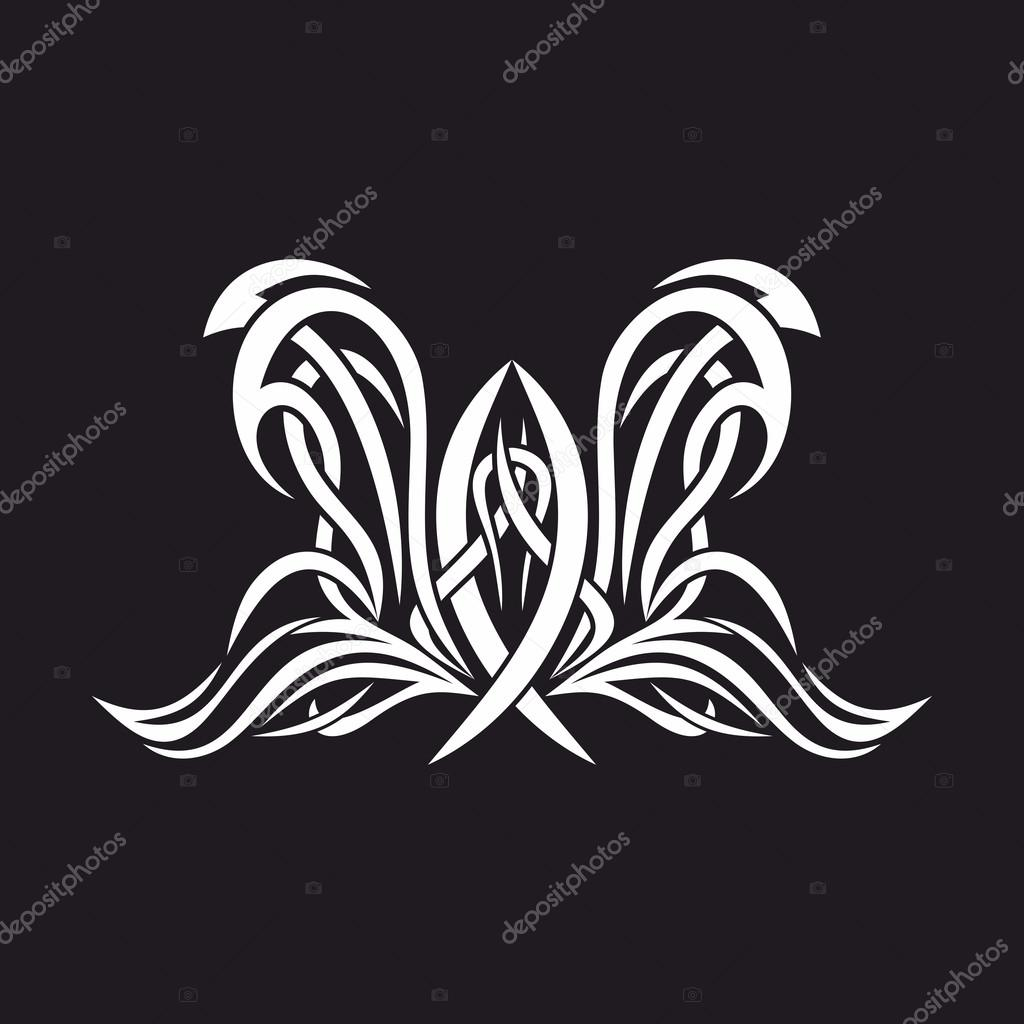 Gothic And Tattoo Marks Christian Symbols Fish Jesus And The Holy