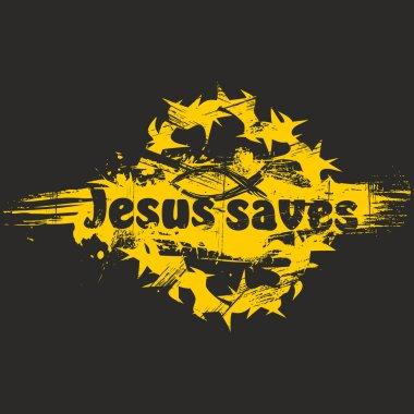 Jesus saves art