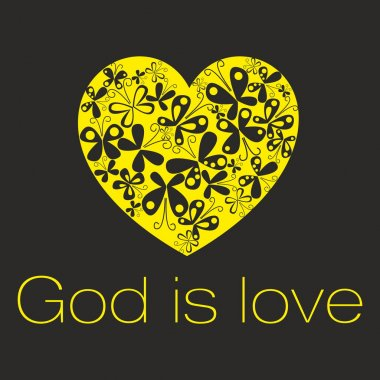 Heart. God is love.