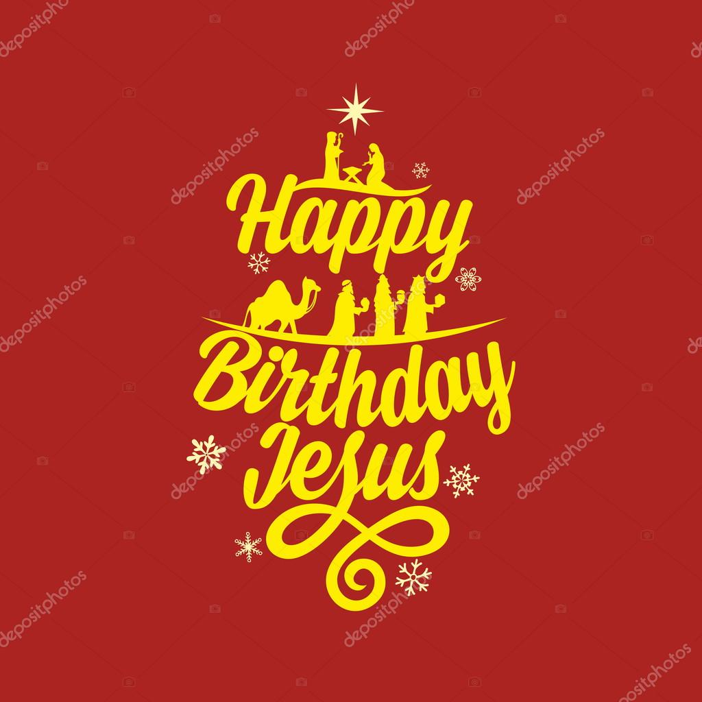 Happy birthday jesus merry christmas stock vector biblebox happy birthday jesus merry christmas stock vector kristyandbryce Images