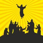 Fotografie Die Himmelfahrt des Herrn Jesus Christus