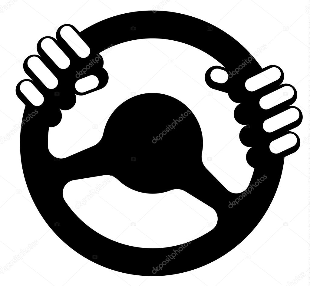 steering wheel with driver s hands stock vector c extradryrain 121241012 https depositphotos com 121241012 stock illustration steering wheel with drivers hands html