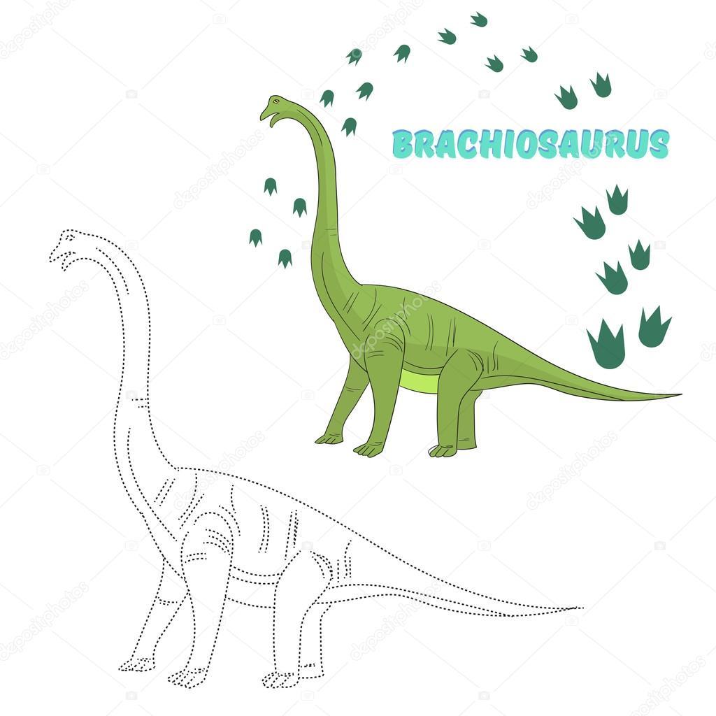 Bir dinozor çizmeyi öğrenin