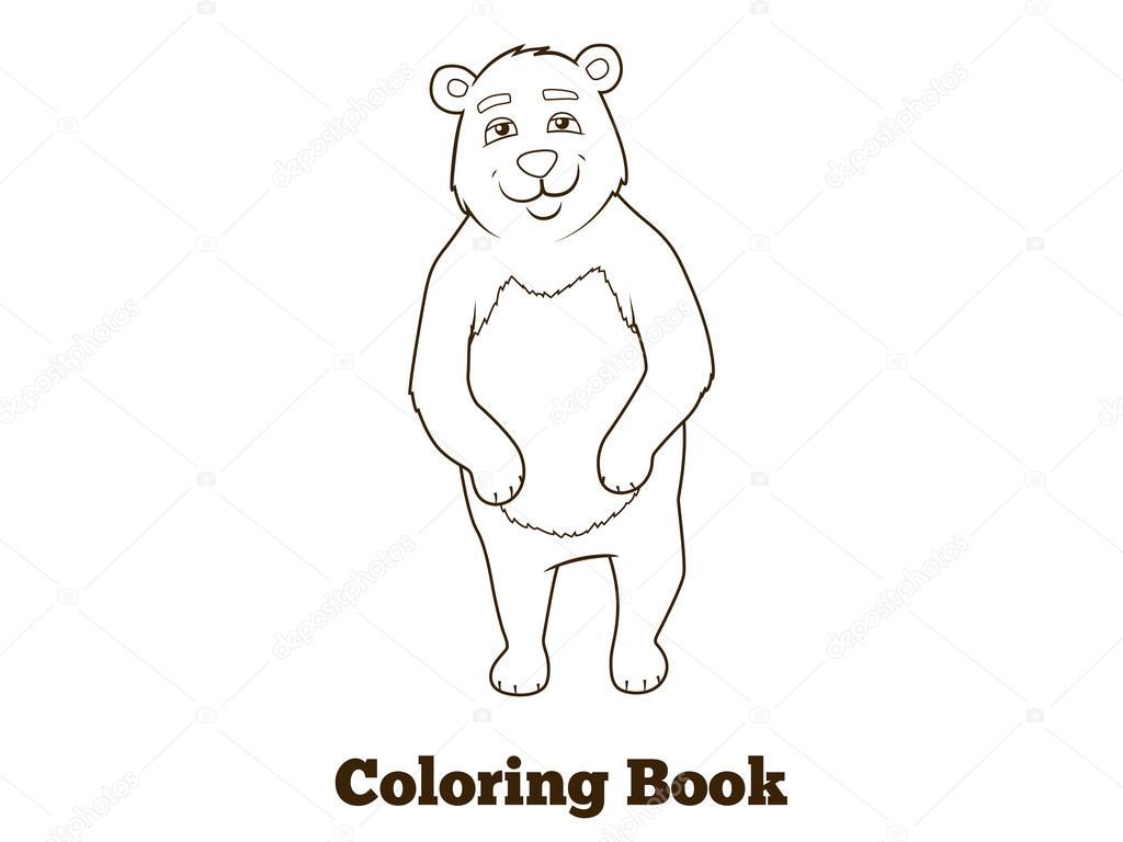 Dibujos Animales Del Bosque Animal Bosque Oso Dibujos Animados