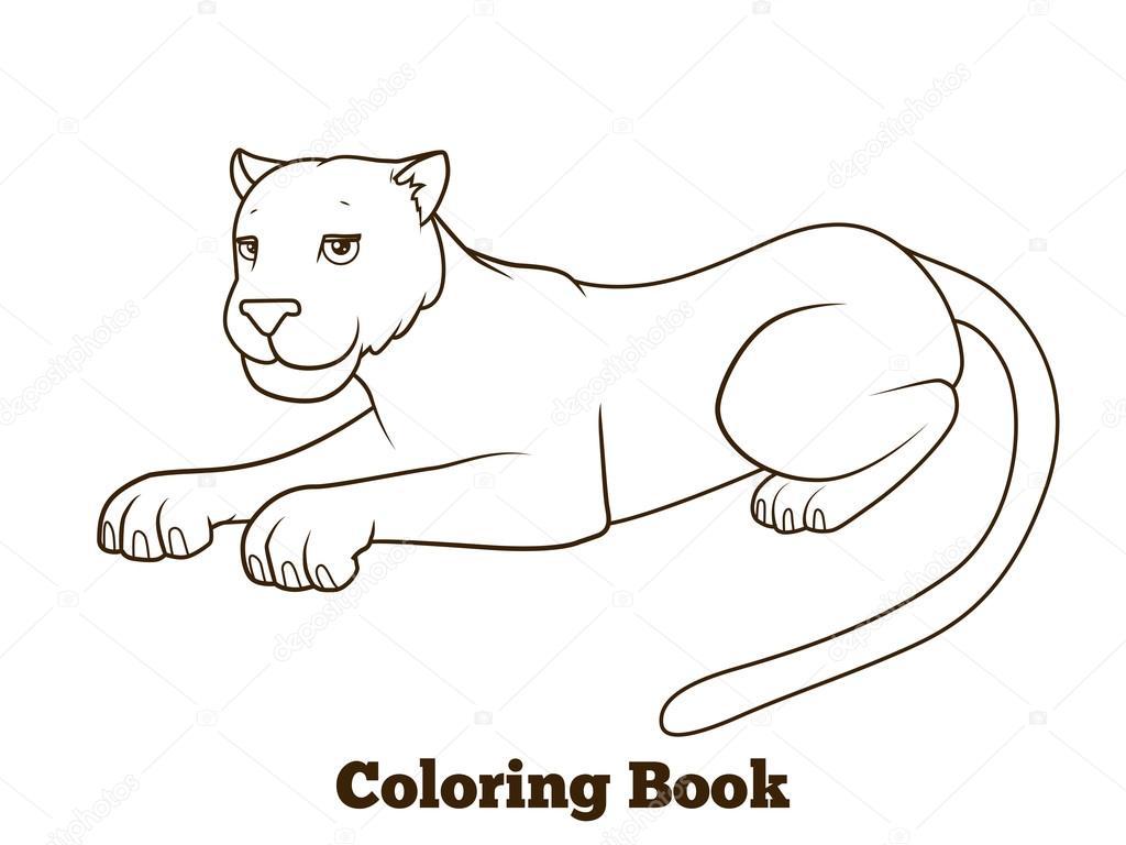 Colorare La Pantera Rosa Disegno Pantera Rosa Da Colorare: Dibujo De Pantera. Pantera Colorear Dibujos. Top Como