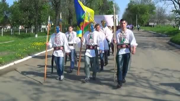 Ukrajina, May, 2014 mír shestvye pro jednotnou Ukrajinu