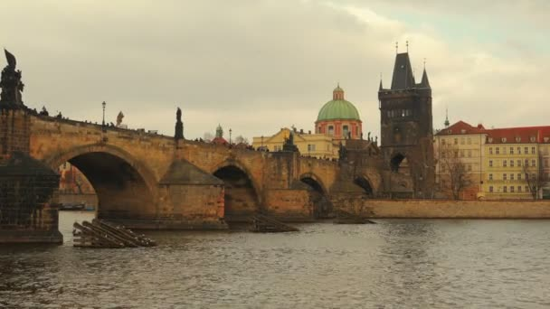 South View of Charles Bridge in Prague