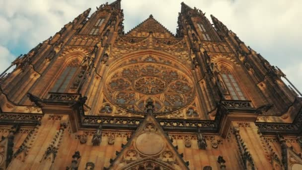 Approaching the St Vitus Cathedral-POV Walking Shot