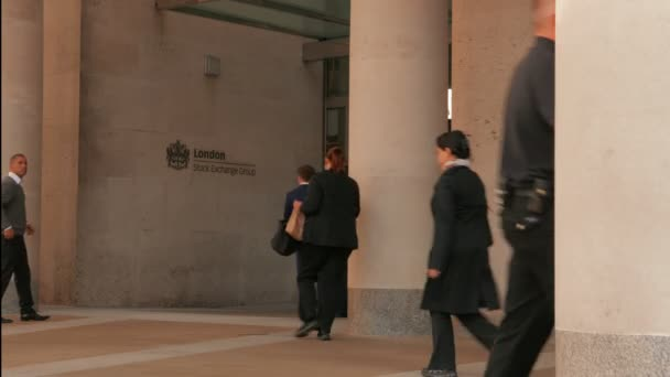 Headquarters of the Stock Exchange in London, UK